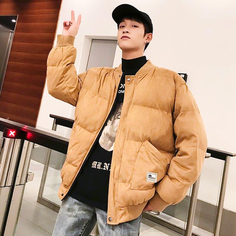 Gros invité hiver nouveau modèle hommes porter la mode va Code court fonds vêtements rembourrés de coton Girard