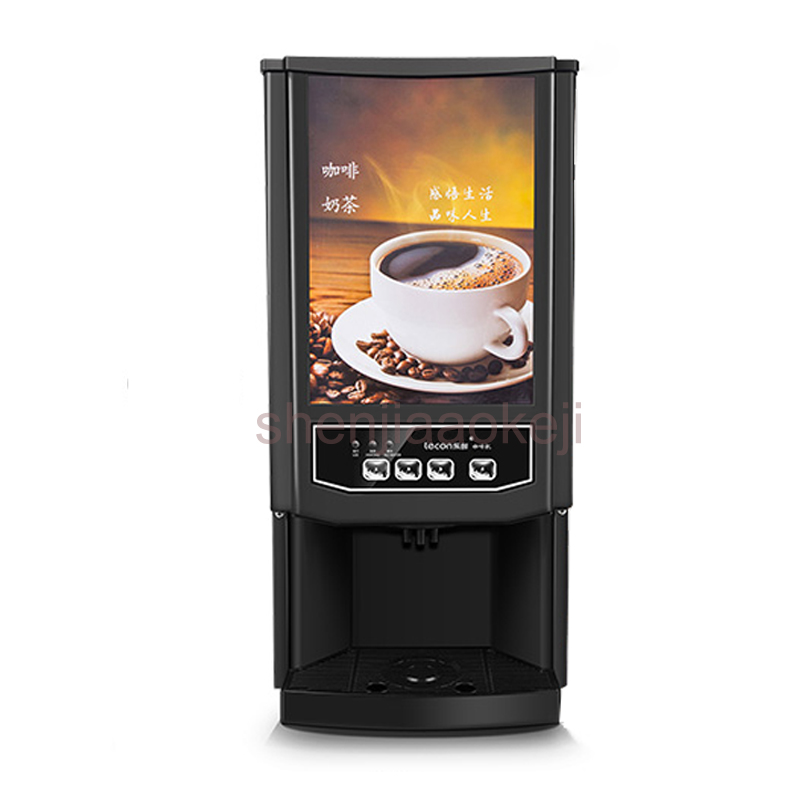 Household small automatic instant coffee machine hot cold beverage machine Milk tea coffee machine drinking fountains 220v 1PC jiqi hot cold beverage machine drinking machine household small automatic instant coffee machine milk tea coffee machine 220v