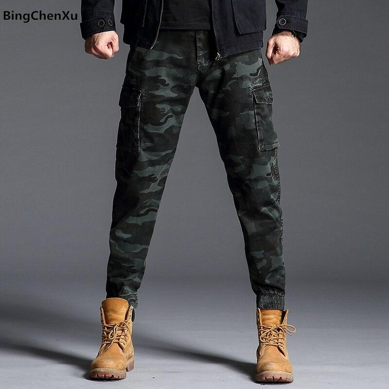 Camouflage Kampf Militärische Taktische Hosen Männer Große Multi Tasche Armee Cargo Hosen Beiläufige Baumwolle Sicherheit Leibwächter Hosen 4991 Strukturelle Behinderungen