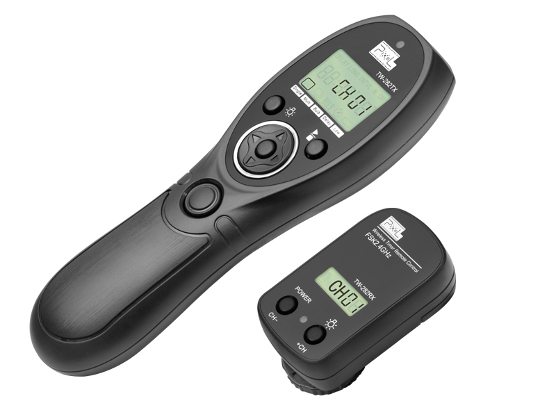 Pixel TW 282 E3 Wireless font b Remote b font shutter release timer control For Canon