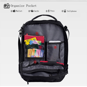 سويس جير حقيبة كتف الترفيه حقيبة صغيرة حقيبة ساعي ل 9.7