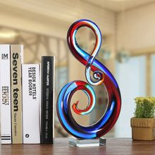 Music Note Glass Figurines For Sale