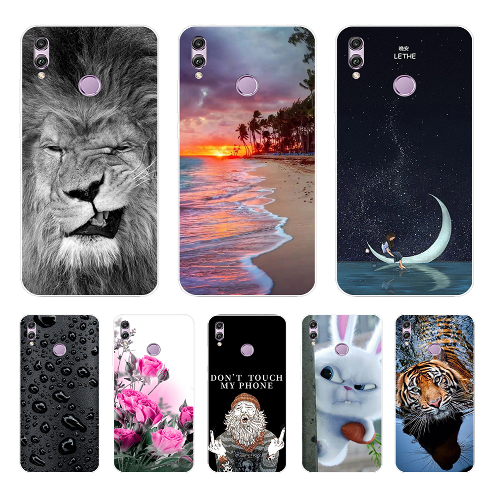 Cover For Huawei <font><b>Honor</b></font> <font><b>8X</b></font> 6.5'' <font><b>Case</b></font> Silicone Back Cover TPU Phone <font><b>Cases</b></font> For Coque Huawei <font><b>Honor</b></font> <font><b>8X</b></font> <font><b>Case</b></font> <font><b>Honor</b></font> 8 X Honor8X X8 <font><b>Max</b></font> image