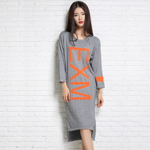 adohon 2018 womens winter Cashmere sweaters and autumn dresses women High Quality Warm Female thickening Casual Straight Oneck