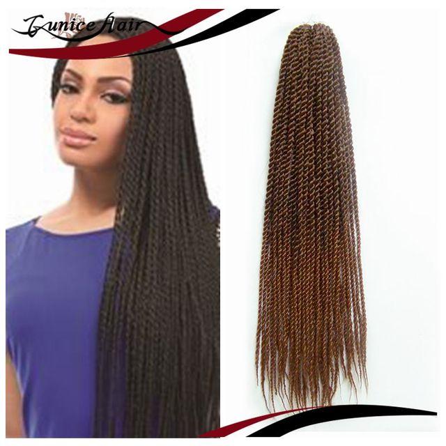 Single Twist Small Freetress Braid Bulk Crochet Senegal Braiding Hair