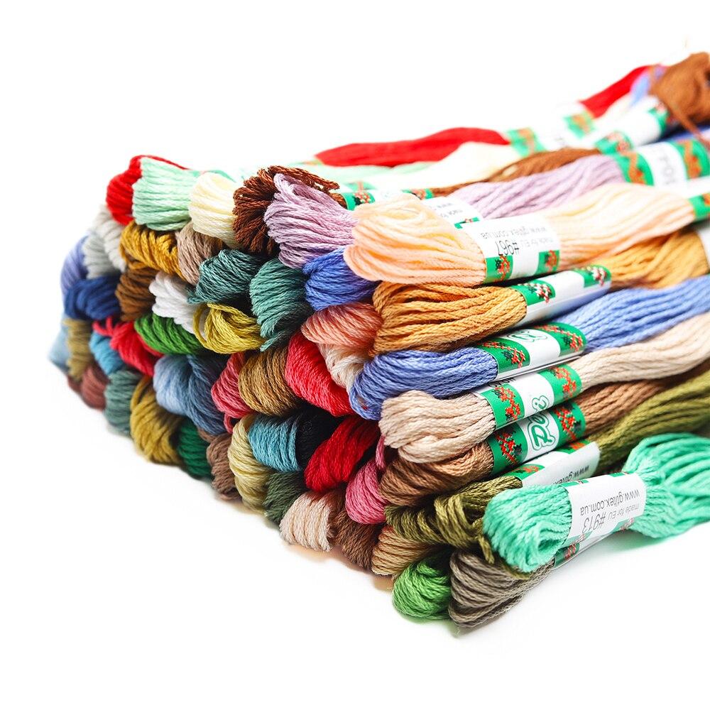 50 Embroidery Thread Bobbins Cardboard Cross Stitch Bobbins