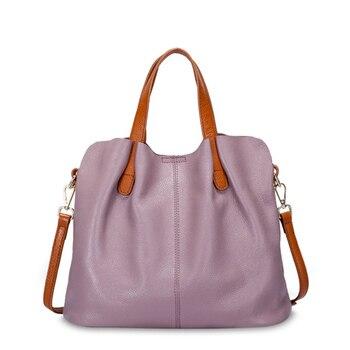 Fashion Genuine Leather Women bag women's handbag Shoulder lady's messenger bag luxury Designer crossbody bags for women ToteS цена 2017