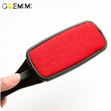 Dog Comb Tool Pet Hair Remover Brush Dog Cat Fur Brush Home Furniture Clothes Cleaning Lint Brush Self Cleaning Base pet hair deshedding dog cat brush comb sticky hair gloves hair fur cleaning for sofa bed clothe pets dogs cats cleaning tools