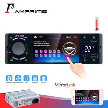 "AMPrime 1 din Autoradio Car radio 4.1"" Touch Screen Auto Audio mirrorlink Android stereo Bluetooth FM/AUX 1DIN MP5 Player(China)"