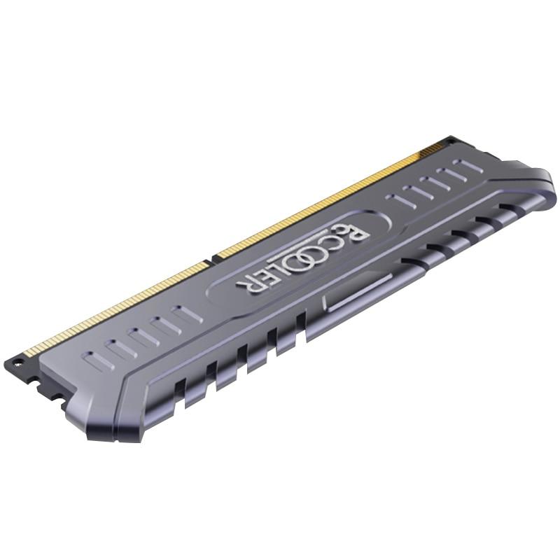 Pccooler ARES 4 GB 8 GB 16 GB 2400 MHz DDR4 CL17 1.2 V pour ordinateur de bureau Intel mémoire RAM rouge noir ordinateur mémoire Gamer bricolage - 6