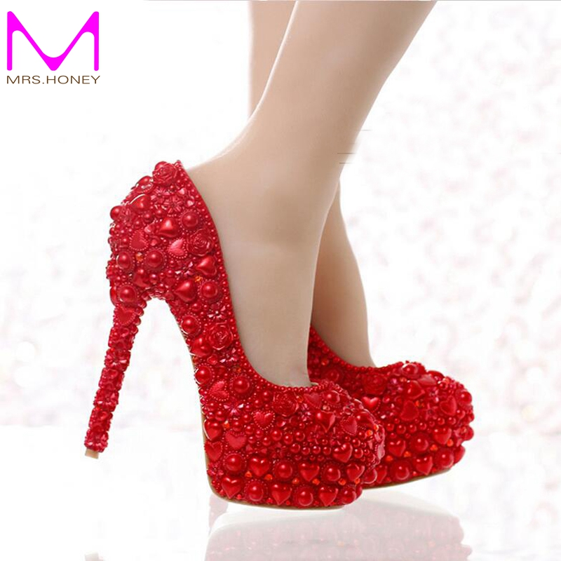 Online Buy Wholesale mom red high heels from China mom red high