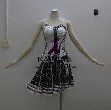 Hot Sales KAKA L140255 Women Dance Wear Girls Fringe Latin Dress Salsa Dress Tango Samba Rumba