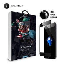 G D SMITH 3D Full Cover Tempered Glass For Apple iPhone 7 7 Plus Screen Protector