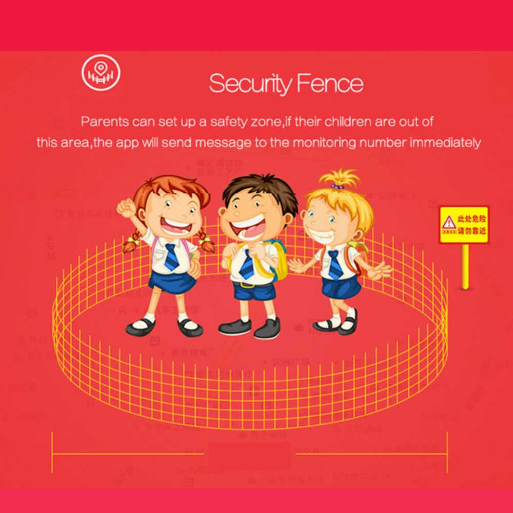 Q90 Children Watch SOS Anti-lost Clock Wifi SIM Card Baby Smartwatch Kids Smart Watch GPS Positioning Alarm Clock PK Q80 Q50 Q60