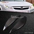 Carbon fiber Headlight Eyebrow Eyelid for Vauxhall Opel Vectra C Facelift Vauxhall Opel Signum Facelift 06-16 [1011148.]