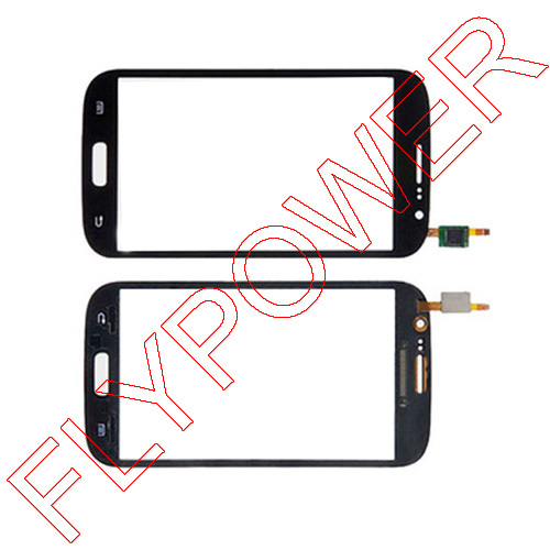 For Samsung Galaxy Grand Neo Plus i9060i Touch Screen Digitizer Panel with Duos black by Free Shipping:100% warranty