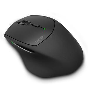 Image 2 - オリジナル Rapoo 間 MT550 マルチモードワイヤレスマウス Bluetooth 3.0/4.0/ワイヤレス 2.4 グラム 4 デバイス接続 Usb レシーバー