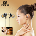 Vrme Earphone Fashion Sport Headphones Bass Stereo Headset Mobile Phone Headphones With Microphone Hifi For Xiaomi iPhone 6 MP3