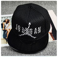 2017 Men's Unisex  flat caps men Cool Fashion Snapback Hats Hip-Hop adjustable bboy Baseball Cap Hats Black