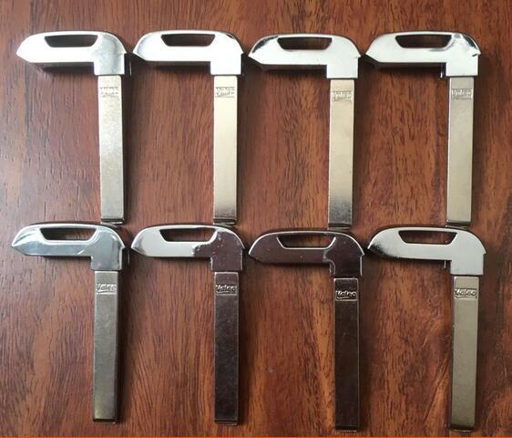 Emergency Small key blade for Chevrolet Camaro Smart Remote Key Shell