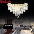 Потолочные светильники круглые  светодиодные  Кристальные