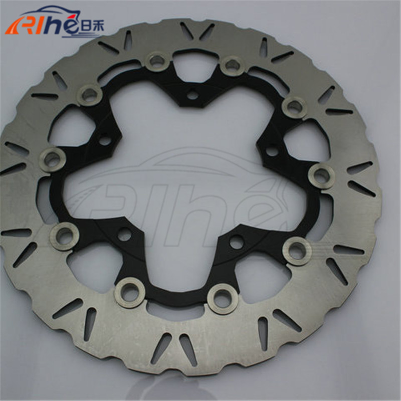 Aluminum alloy inner ring&Stainless steel outer ring motorbike front brake disc rotos For SUZUKI DL650 ABS/NON 2007 2008 2009 стоимость