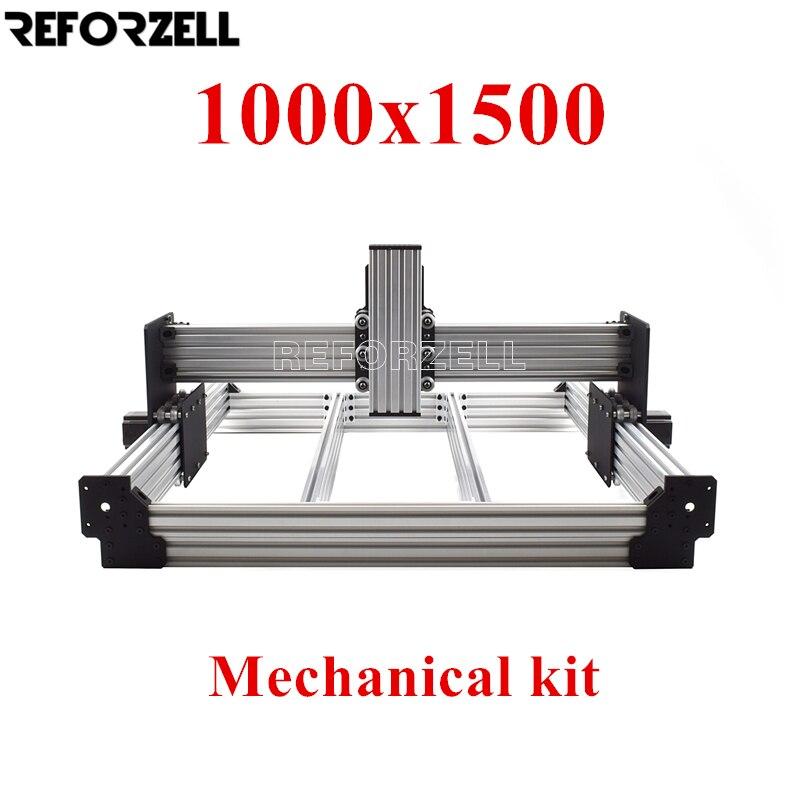 1000mm x 1500mm WorkBee CNC Router Machine kit,CNC Milling Mechanical kit