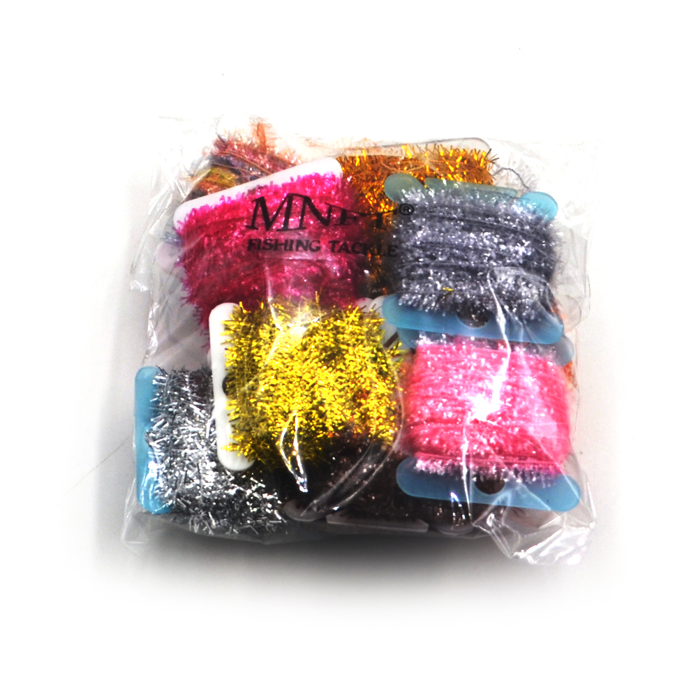 Lot of 15 Assorted Fly Fishing Chenille