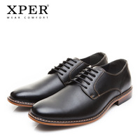2018 XPER Brand Men Dress Shoes Fashion Comfortable Business Shoes Men Formal Shoes Lace Up Male Wedding Shoes Black #XYWD8693BL