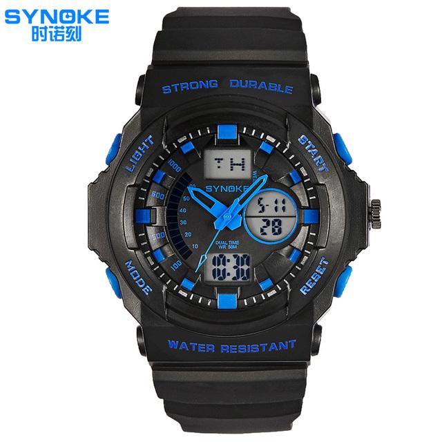 Marca Homens Relógio Relogio masculino Digital Forte Durável Male'a Natação Relógio do Esporte Militar relógios de Pulso À Prova D' Água