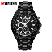 CURREN 2018 New Luxury Fashion Analog Military Sports Men Wa
