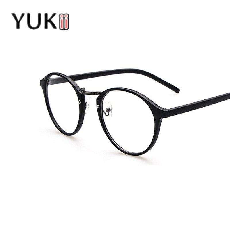 yukii soild frame glasses plain eye glasses optical