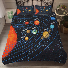 A Bedding Set 3D Printed Duvet Cover Bed Space astronaut Home Textiles for Adults Bedclothes with Pillowcase #ETTK09