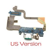 10 قطعة/الوحدة ، ل LG G7 Thinq G710 موصل هيكلي مايكرو شاحن يو اس بي شحن ميناء فليكس كابل مجلس مع ميكروفون استبدال أجزاء