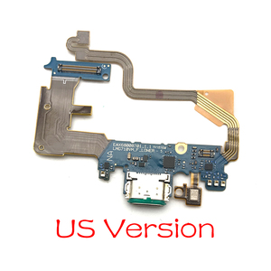 Image 1 - 10 قطعة/الوحدة ، ل LG G7 Thinq G710 موصل هيكلي مايكرو شاحن يو اس بي شحن ميناء فليكس كابل مجلس مع ميكروفون استبدال أجزاء
