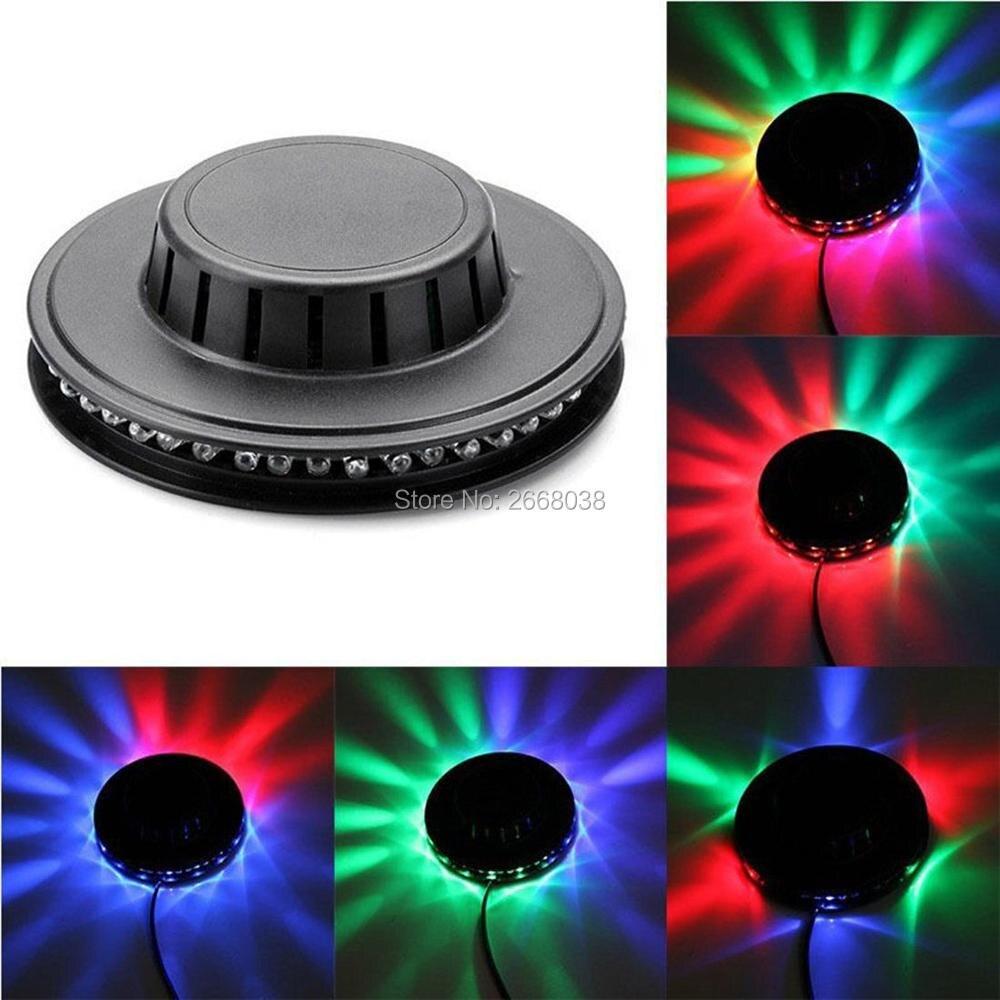 RGB LED Sunflower Flying Saucer Stage Light