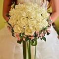 Горячая искусственный шелк свадебные букеты для невесты рука цветы ручной свадебный букет невесты аксессуары красный королевский синий