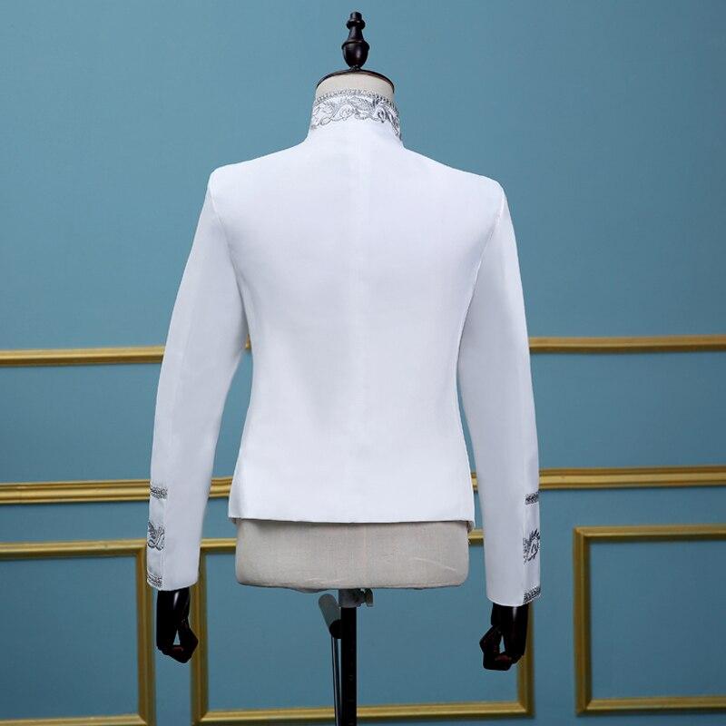 Blazers Lentejuelas Solo Oro Blazer Chaquetas Prom Negro Trajes Hombres  Borla Cantante Del white Homme Breasted Etapa Mens Black Boda Glitter  pdA6Awq 33b3129bd16