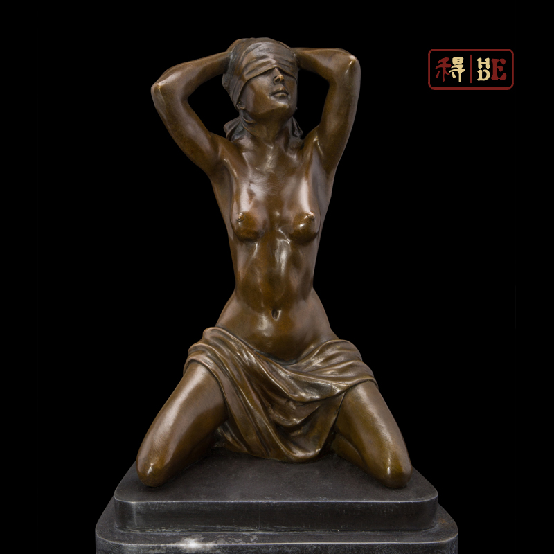 Wo have body art bronze crafts high-end Home Furnishing jewelry ornaments decoration gift DS-353