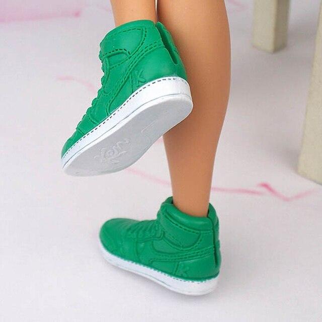 3e4f1688801 Новый 1 пара модная обувь для куклы спортивная обувь цена Кен мужской  аксессуары кукол куклы для