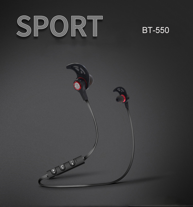 Wireless Sport Bluetooth Earphone Super Bass Stereo Earbuds With Mic Fone De Ouvido Headset For IPhone Samsung Xiaomi Sony