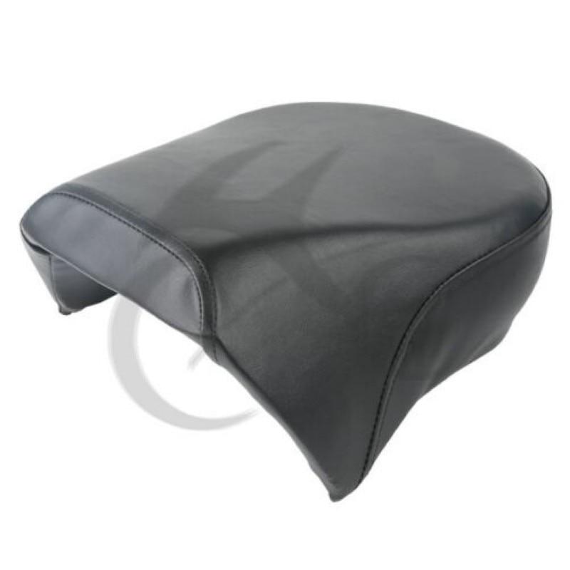 Motorcycle Black Rear Passenger Pillion Seats For Harley Sportster XL 883 1200 XL1200C 2007-2015 14 13