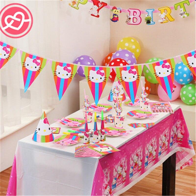 Home Furniture Diy Hello Kitty Birthday Confetti Bag Filler