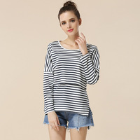Emotion Moms Fashion Maternity Clothes Long Sleeve Maternity Tops Nursing Top Breastfeeding Clothes For Pregnant Women