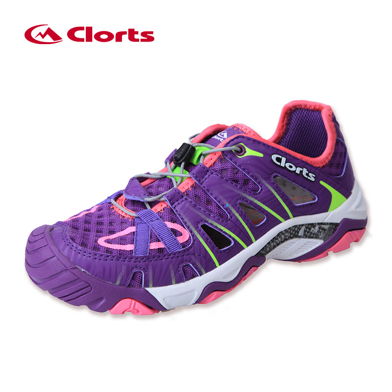 2018 Clorts Summer Upstream Shoes for Women 3H025C/D Fast drying Water Sneakers Breathable New Arrival Women Aqua Shoes shipped from usa warehouse 2018 clorts women water shoes summer beach shoes quick dry aqua shoes for women free shipping wt 24a