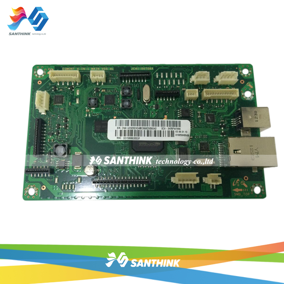 100% Test Main Board For Samsung SCX-3405FW SCX 3405FW 3405 SCX3405FW Formatter Board Mainboard On Sale formatter pca assy formatter board logic main board mainboard mother board for hp m775 m775dn m775f m775z m775z ce396 60001