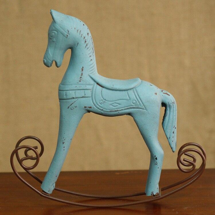 Clic Toys Wooden Rocking Horse