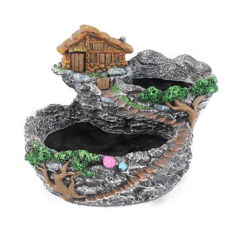 Fairy Resin Modern Garden Planter Miniature Sweet House