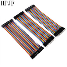 Dupont line 120pcs 10cm/20cm/30cm male to male + male to female and female to female jumper wire Dupont cable for Arduino