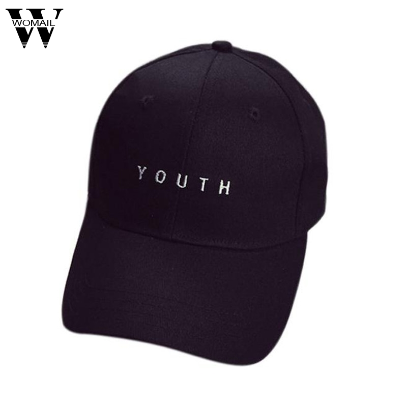 New Summer Cotton Baseball Cap Women Men Snapback Hip Hop Hat print letter hat Black White Amazing hats for women men